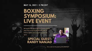 Muppet Researcher | Boxing Symposium | Talkin FIght
