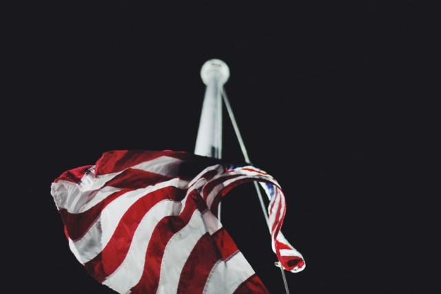American Flag from Unsplash by Jake Ingle