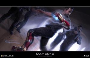 Iron Man 3 SDCC poster