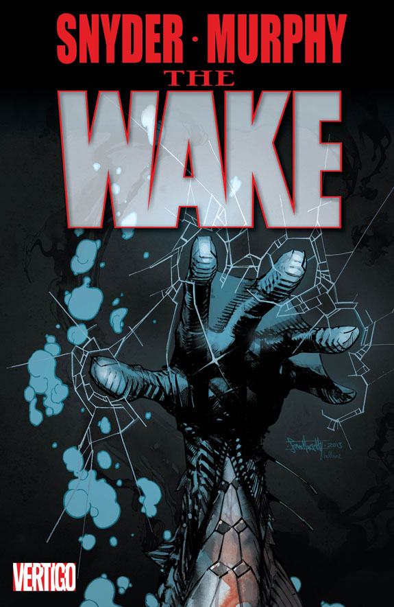 First Look At The Cover Of The Wake #1 I Vertigo I Talking ...