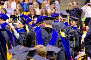 The Hooding of the Doctorates