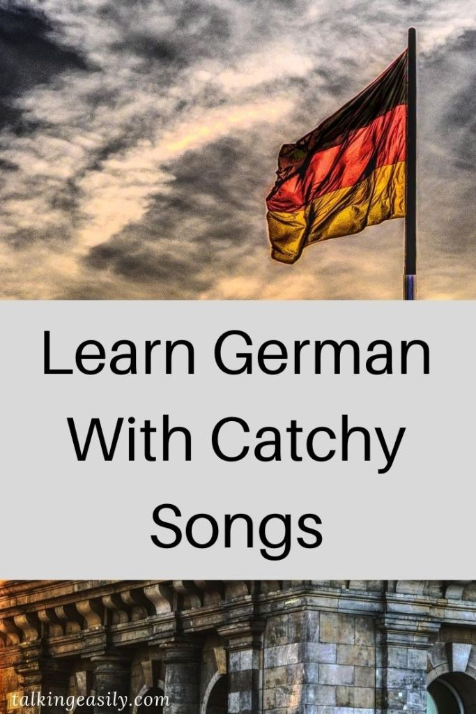 Post Pin: Learn German With Catchy German Songs