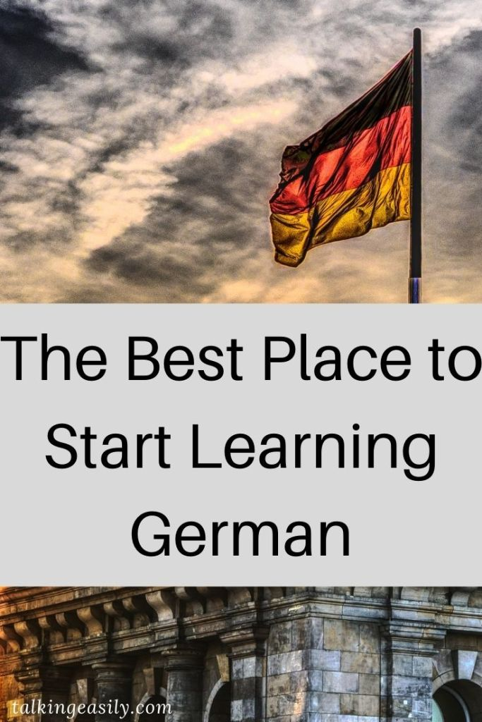 The Best Place to Start Learning German: Post Pin