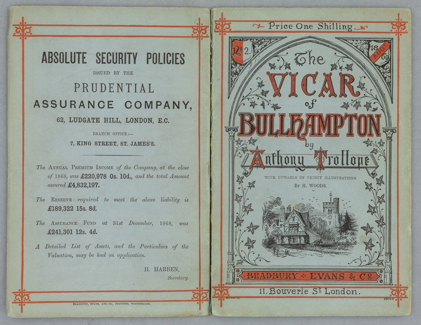 150 years of Trollope's 'The Vicar of Bullhampton': 'third rate for him but better than the best'