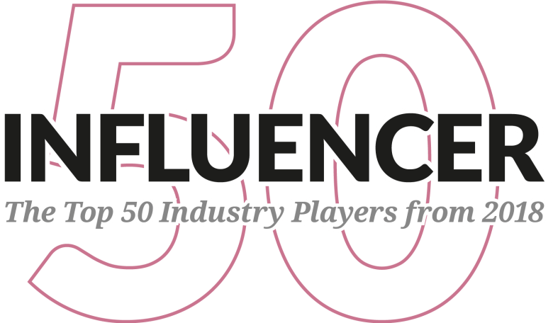 Influencer 50 - The Top 50 Industry Players from 2018