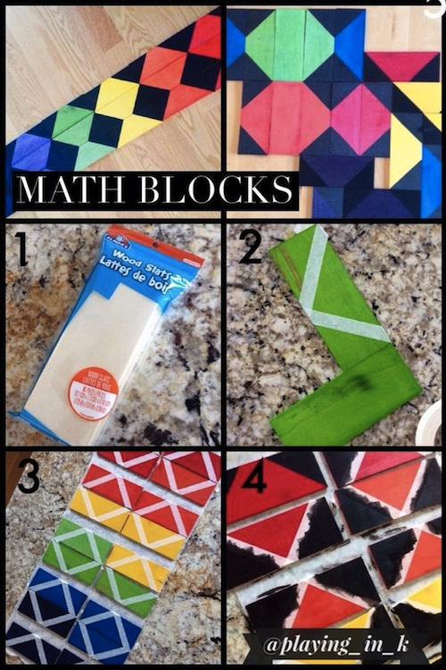 Math blocks how-to photos