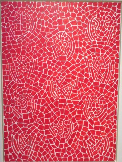 Scarlet Sage Dancing a Whirling Dervish, 1976