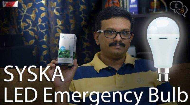 syska led emergency light