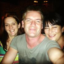 Trudy, Jamie and Me, On a Night out in Northampton, 2013