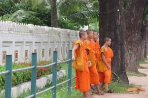 Vientiane Monks