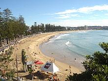 Source: http://en.wikipedia.org/wiki/Manly_Beach