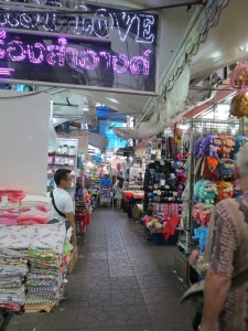 Sampeng Market, Phahurat, Bangkok