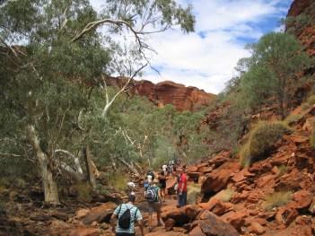 King's Creek Walk, King's Canyon, Australia