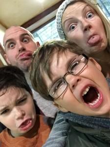 My best friends, Doyle, Mel, Ellis and Harley