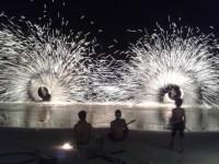 Fire-Dancers @ Hat Sai Kaew Beach, Koh Samet