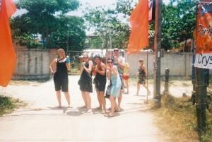 Songkran, Koh Tao