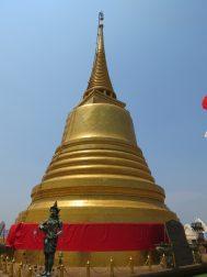 Chedi at Wat Saket, Bangkok
