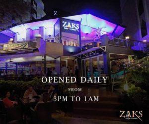 Zaks Wine Pub, Bangkok