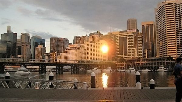 Darling Harbour at Sunset