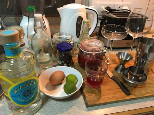 Homemade cocktails ideas