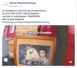 wendie webfest official selection talking to grandma web series