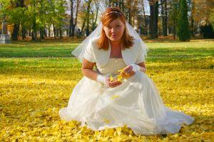 Свадьба осенью: играем на контрастах