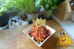 Tomatensalsa met Paprika en Komkommer