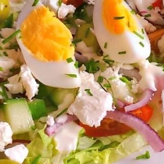 Pizza Pita met Salade