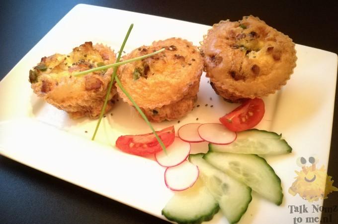 Fritatta muffins | TalkNomzToMe.nl