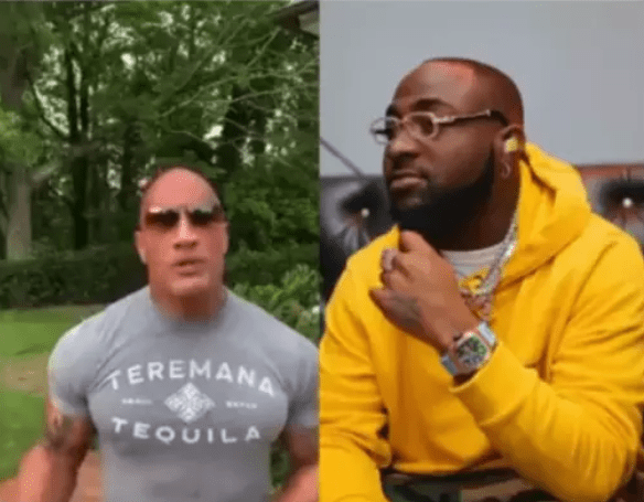 Hollywood actor 'De Rock' confirms that Davido is the best (video) – Talk of Naija