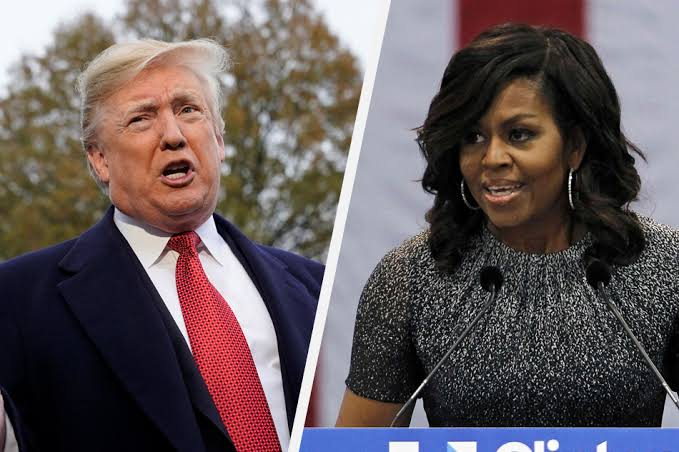 Double Standard Trump says Obama golfed despite his wife Michelle urging people to stay home – Talk of Naija