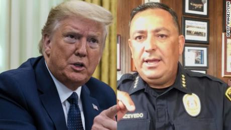 'If you don't have something constructive to say, keep your mouth shut' - Courageous police officer tells Donald Trump (Video) – Talk of Naija