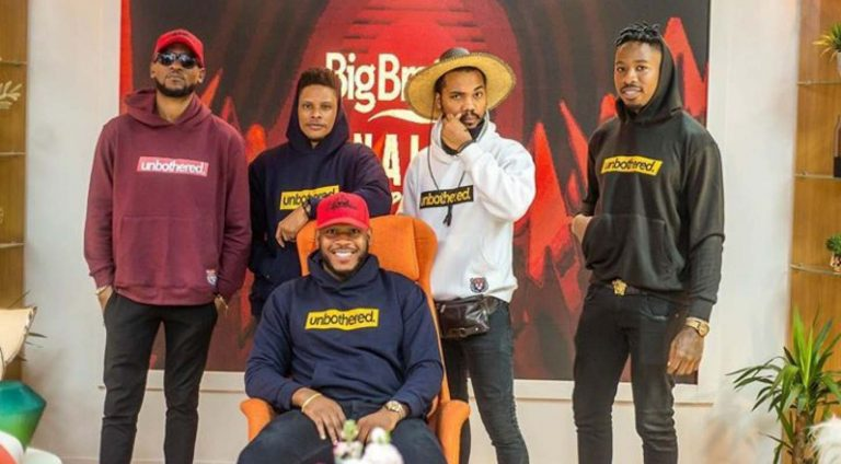 Omashola, Joe, Ike rock Frodds Unbothered Hoodie to BBNaija Pepper dem reunion – Talk of Naija