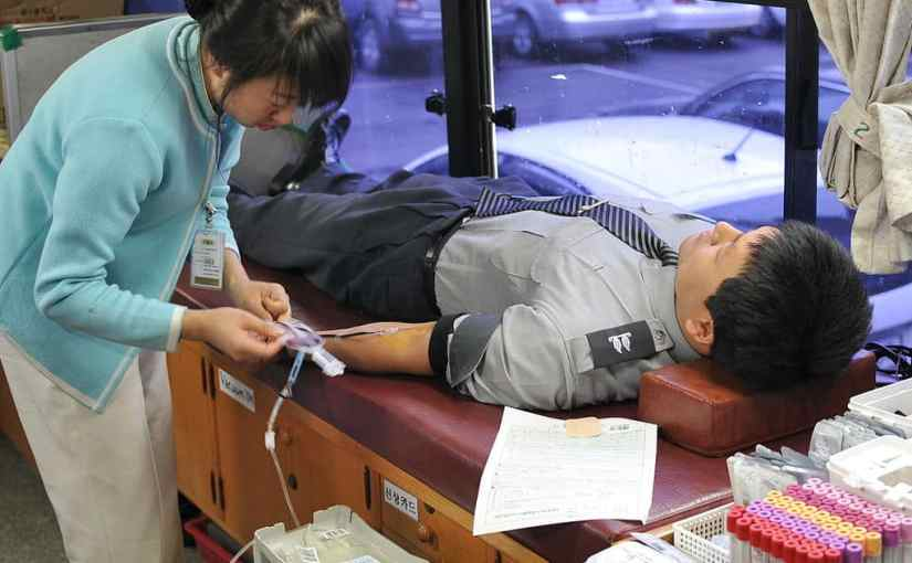 American Red Cross Blood Drive at Library