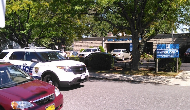Shooting scene on Clinton Avenue in New Rochelle