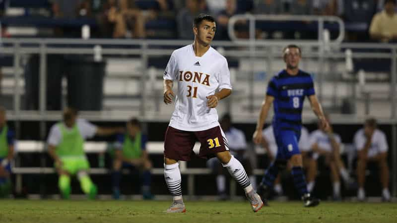 Iona MSOC Holds Off Yale, 2-1