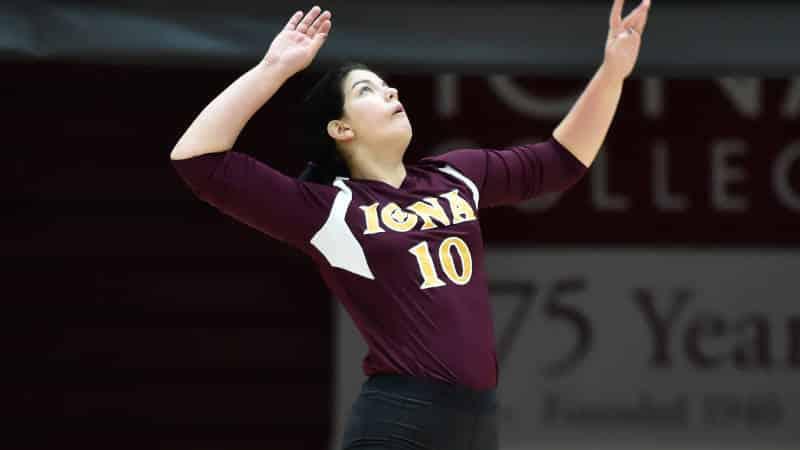 Iona Volleyball Edged At Niagara