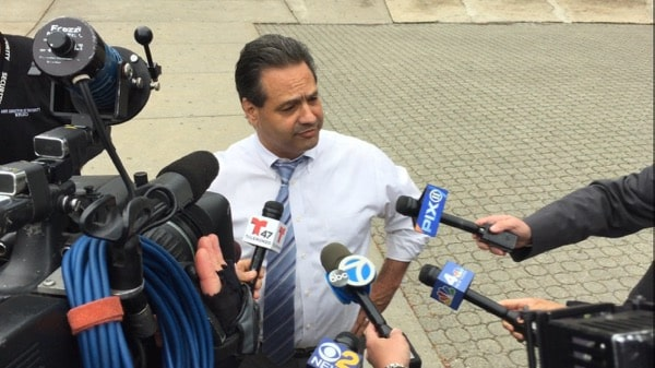 Isaac Young Principal Anthony Bongo addresses media after stabbing incident