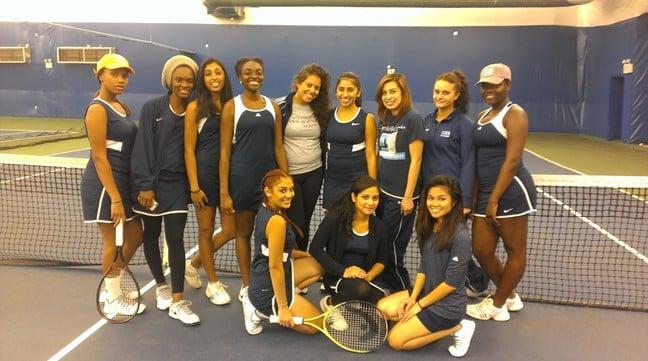 Lehman Defeats Women's Tennis in Season Finale