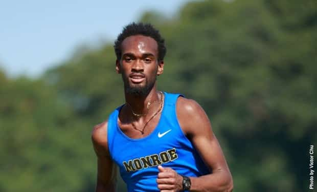 Monroe College Men's Cross Country Competes at the CCNY Invitational