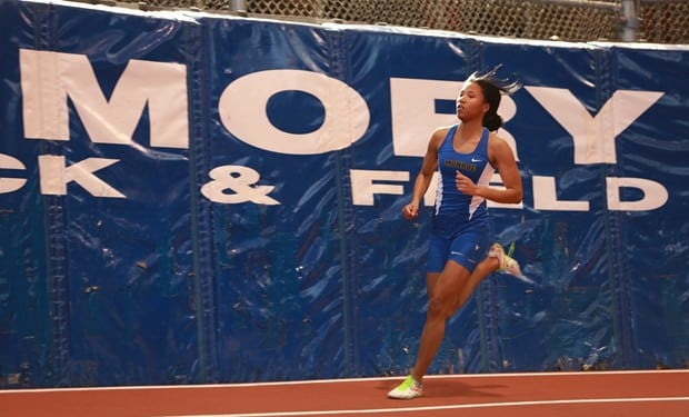 Women's Indoor Track Team Has Strong Showing at Molloy Invitational
