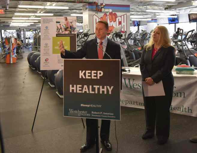 Astorino Launches Keep Healthy Campaign