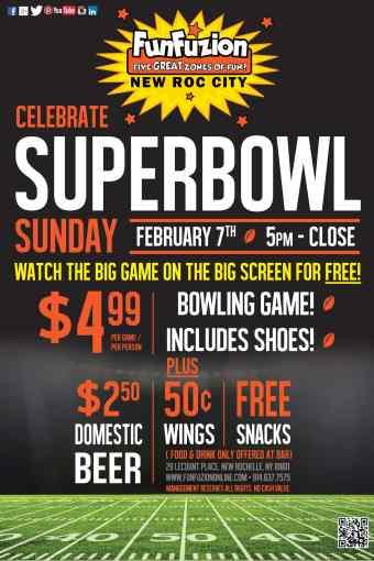 Celebrate Superbowl Sunday