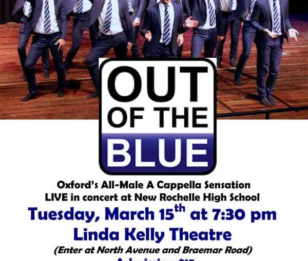 Oxford University a cappella group to perform at NRHS March 15th