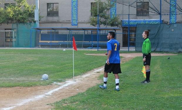 JV Men's Soccer Wins Second-Straight Game, 6-1, Against Georgian Court University.jpg