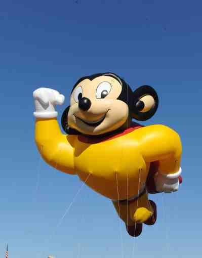 Mighty Mouse Makes Grand Return for 53rd Annual New Rochelle Thanksgiving Parade