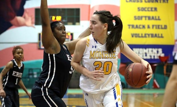 Monroe Women's Basketball Wins Fifth Straight After Victory over Union County College