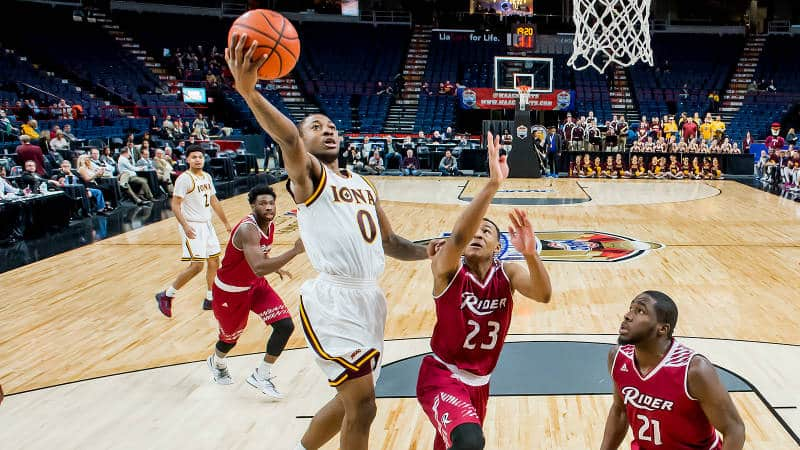 Backcourt Propels Iona MBB To MAAC Championship Semifinal With 88-70 Win Against Rider.jpg