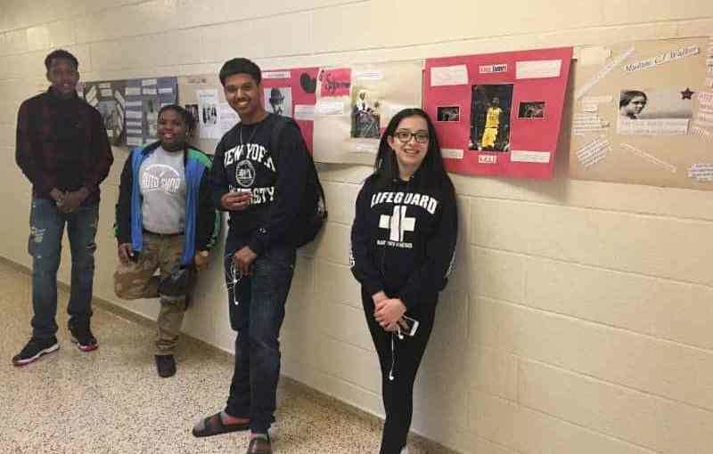 Campus Alternative Students Observe Black History Month