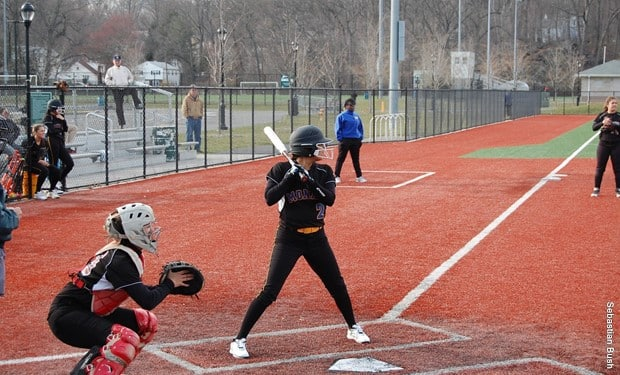 Monroe Softball Sweeps Doubleheader with Harford CC